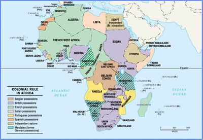 Map Of Africa During Imperialism.New Age Of Imperialism The Scramble For Africa My Social