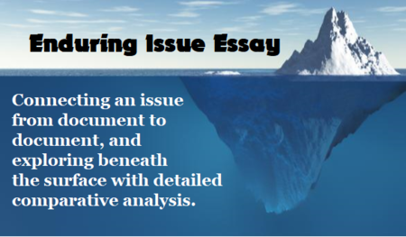 Global history 9 honors enduring issues essay